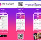 How to use codnix studio app?